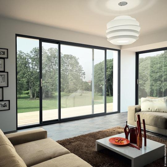 Baie vitrée ou porte fenêtre : notre comparatif pour faire le bon choix