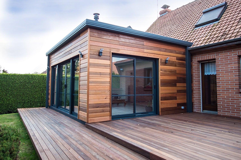 Devis Extension Maison à Orly ▷ Agrandissement Bois, Acier, Parpaing