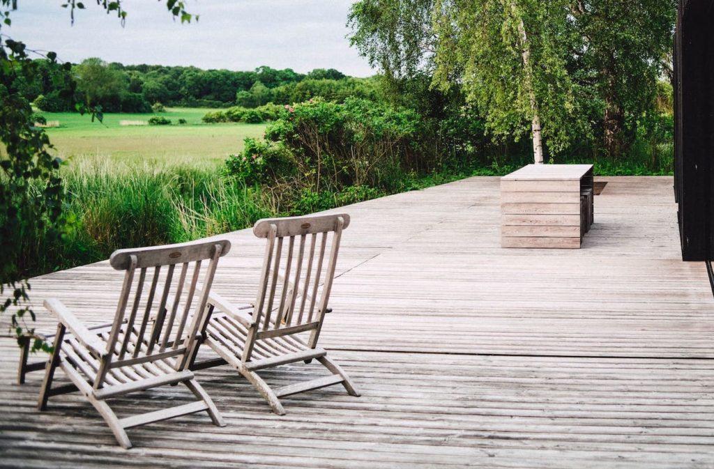 Aménagement terrasse en lame de bois à Nantes