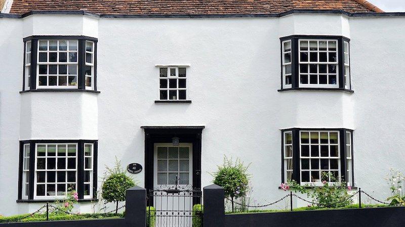 fenetres à guillotine en Angleterre