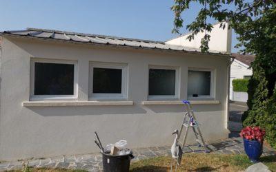 Remplacement de fenêtres à Montaigu