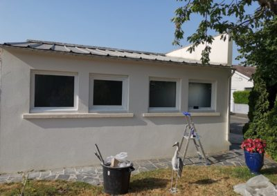 remplacement de fenêtres de garage à Montaigu