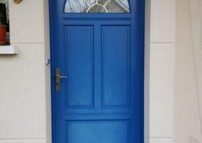 porte entrée à Vallet avant rénovation
