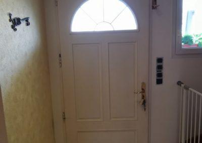 porte bois vétuste interieur
