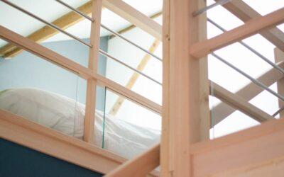 Aménagement de combles avec la création de deux mezzanines à Nantes