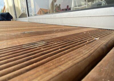 terrasse bois par Nant'Artisans à Haute Goulaine