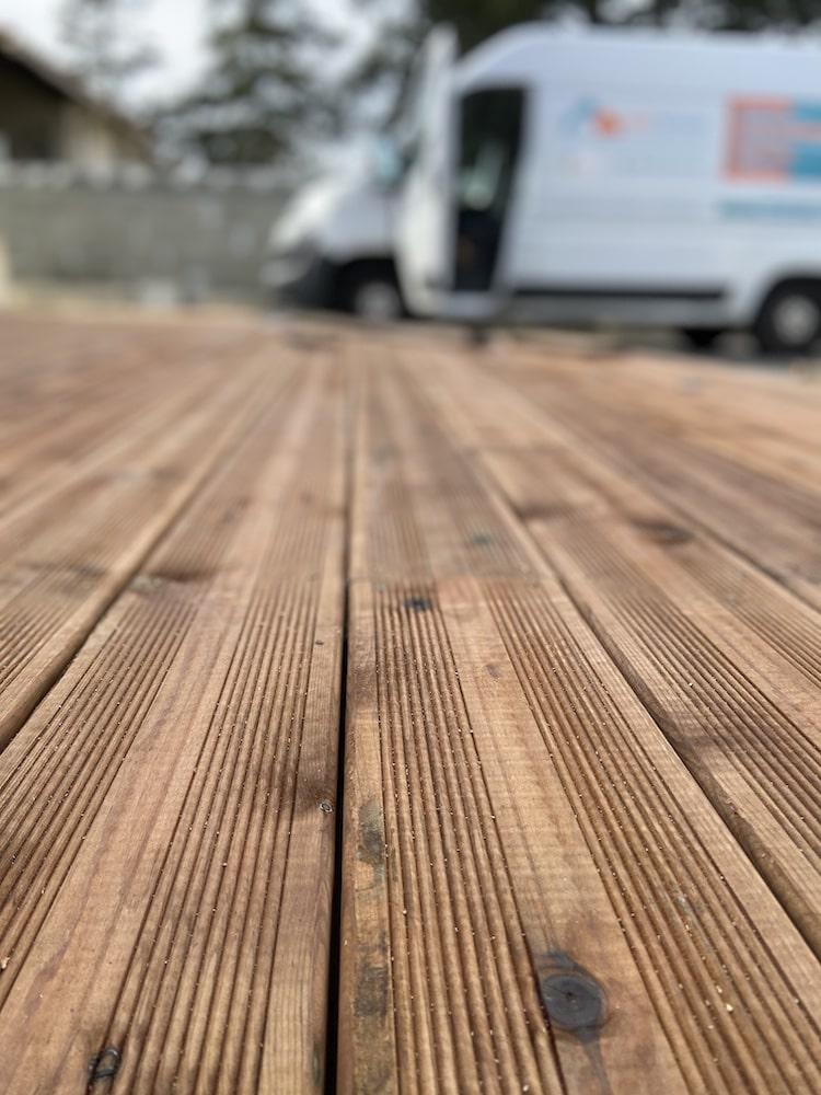 terrasse bois par Nant'Artisans