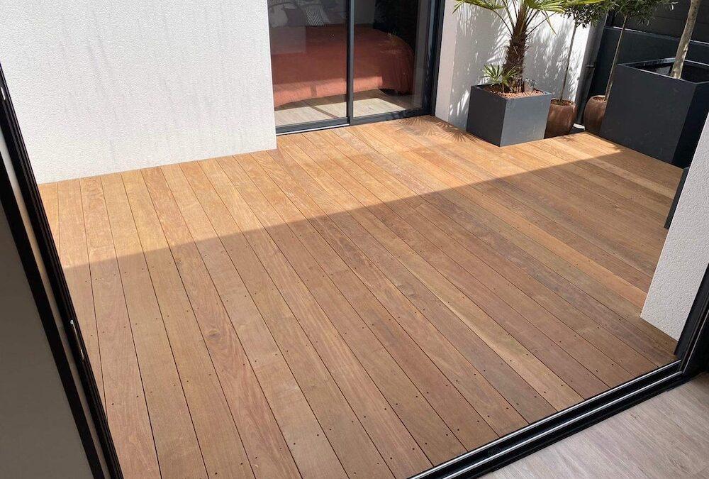 Terrasse en bois exotique Ipé à Vertou