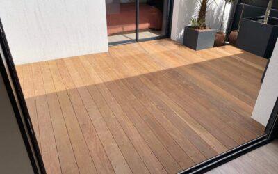 Terrasse en bois exotique Ipé – Nant'Artisans